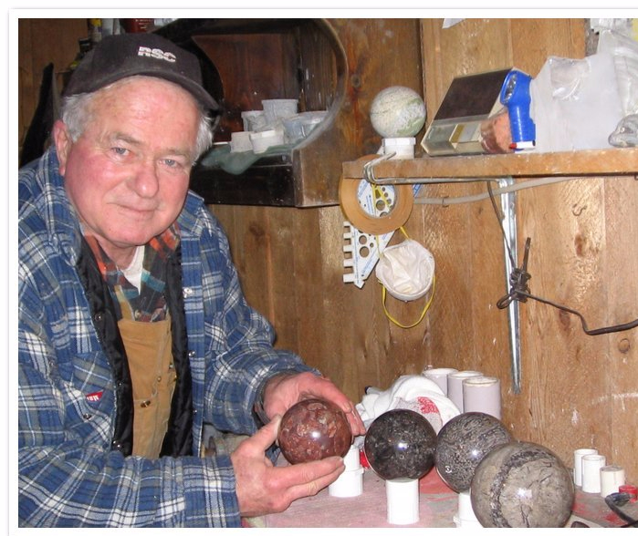 Larry Heddy and Spheres