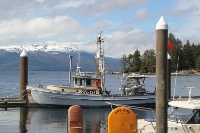 Kasaan 1 Kasaan dock looking west, D. Sylvia 42517
